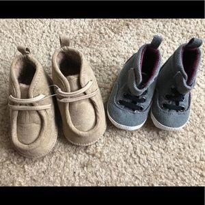Carter's Bundle NWOT Baby Sneakers Shoes Sz 0-3 M